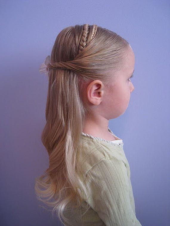 Braided Hairstyles for Flower Girls 2012 02 | StyleCry: Bridal ...