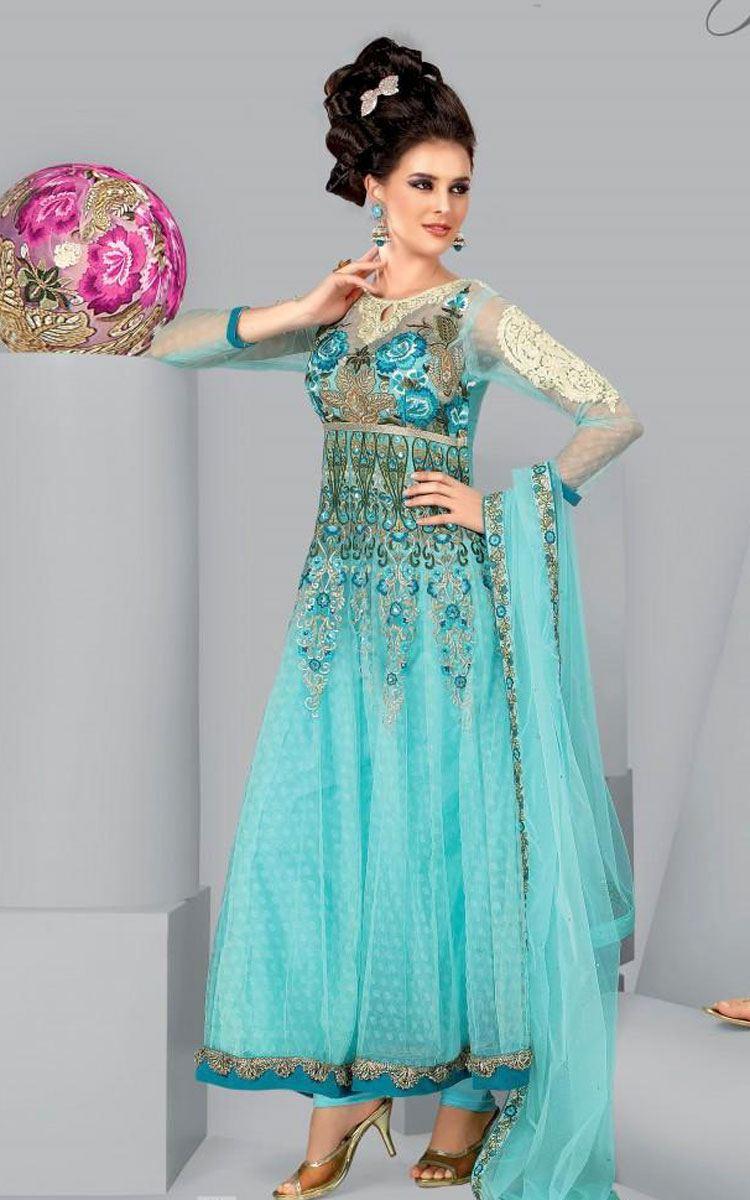 Stylish Salwar Kameez Indian Churidaar 2012 01 | StyleCry: Bridal ...
