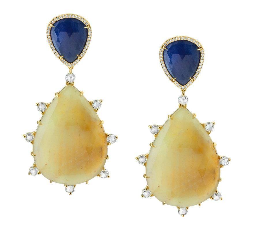Beautiful Sapphire Earings