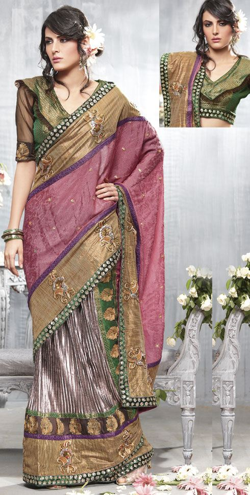 Ghagra Style Sarees