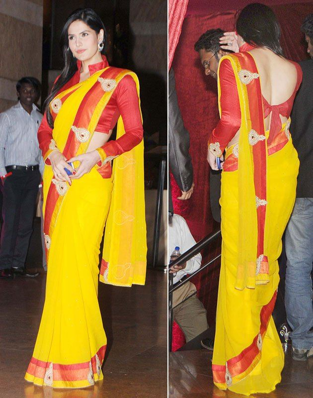 Bollywood Celebrities Indian Saree