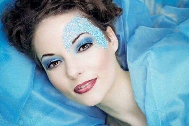 Colorful Makeup Of Young Girls