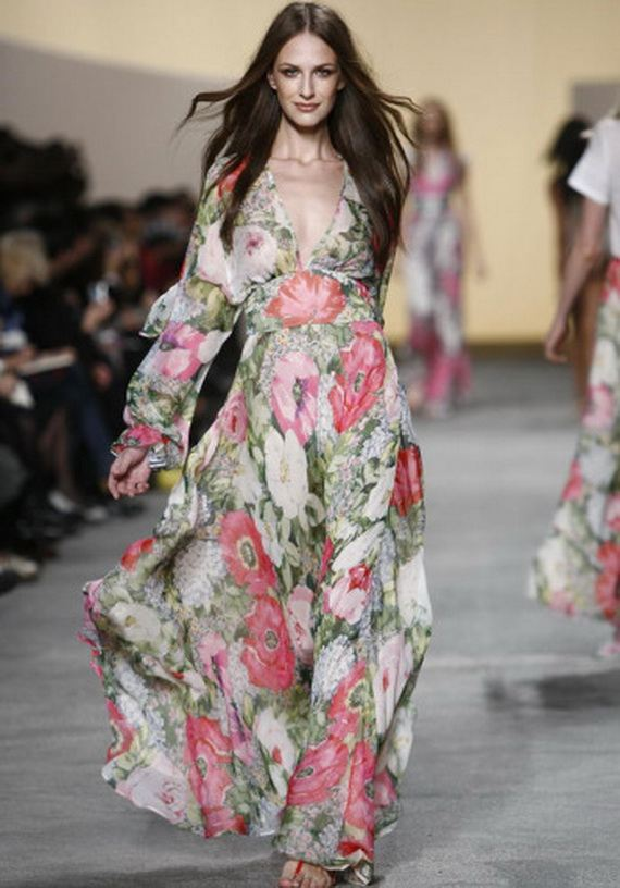 Floral Maxi Beautiful Evening Dresses 23 Stylecry