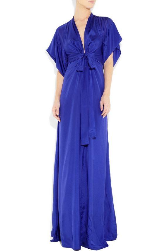 Kimono Maxi Beautiful Dresses 2012