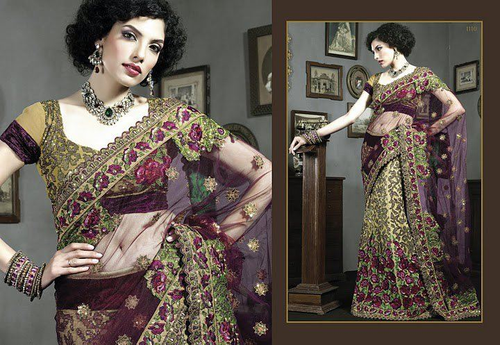 Lehenga Sari's and Designer Sari's Collection