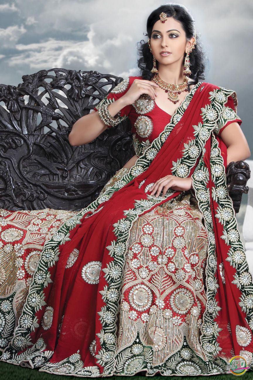 Most Beautiful Bridal Lehenga 08 | StyleCry: Bridal Dresses, Women ...