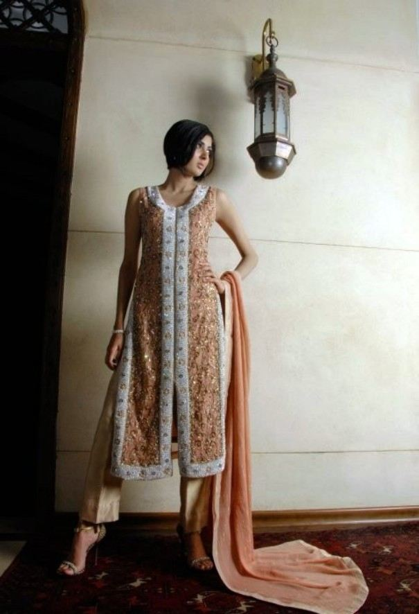 39a2a2b9276 Pakistani Girls Heavy Formal Dresses