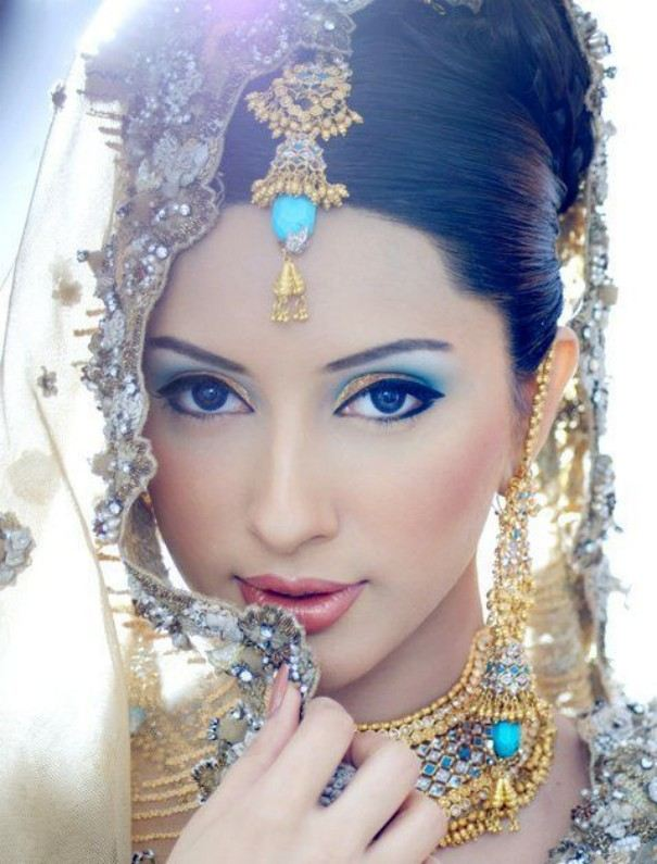 Pretty Bridal Makeup Styles