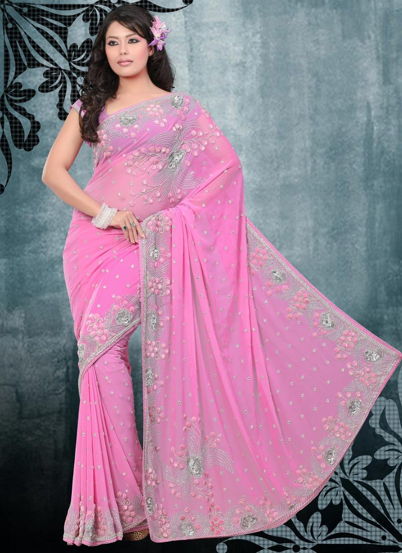 Pretty Rair Beautiful Designer Sarees