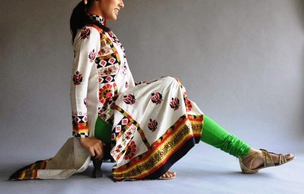 Printed Lawn Beautiful Shalwar Kameez Designs