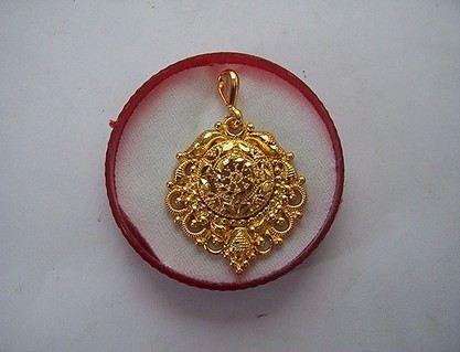 Beautiful Gold Platted Menacarri Pendents