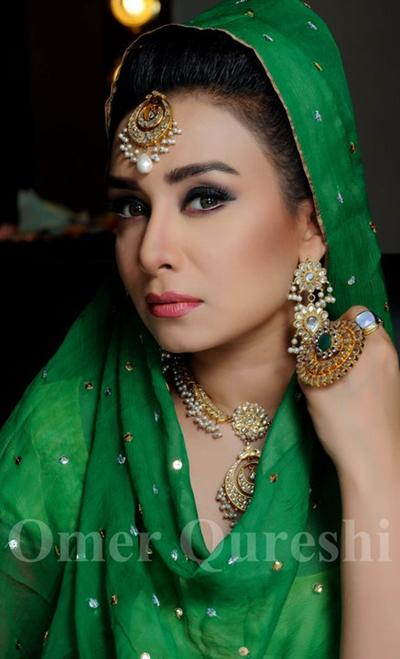 Elegant Bridal Jewelry and Make Over Photoshoot