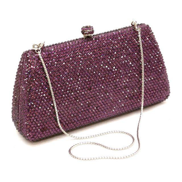 Exquisite Diamond Beaded Crystal Evening Clutches