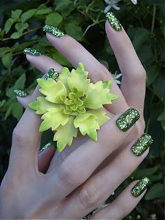 Fatastic Glittery Nail Colors