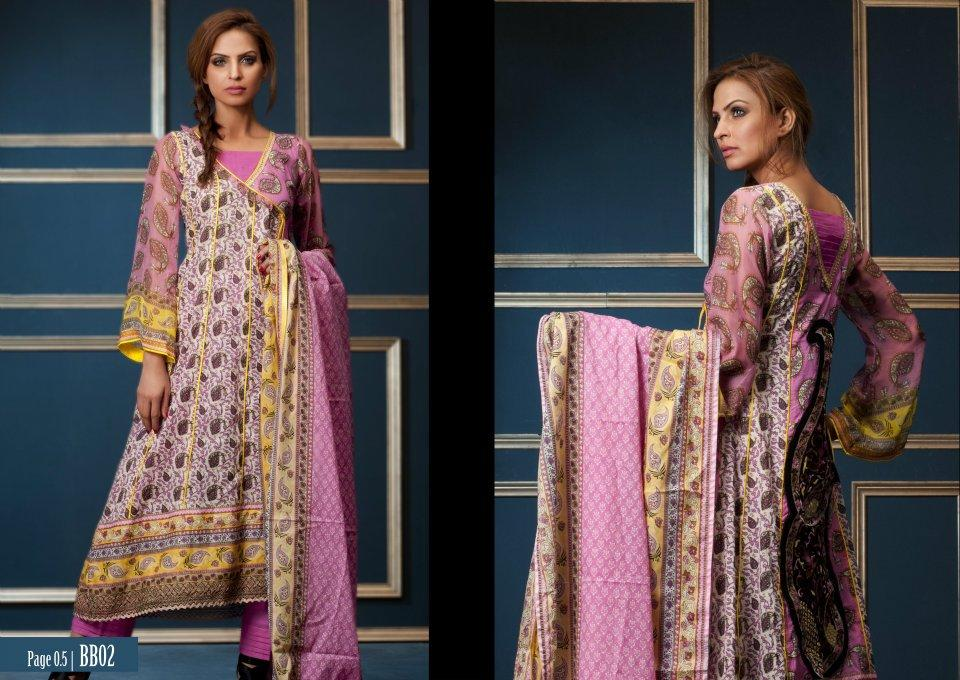 Summer Style Embroidered Lawn Collection By Shariq Textiles
