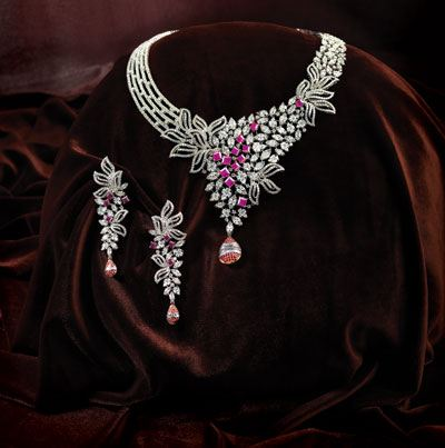Unique Diamond Jewelry Sets