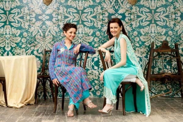 Aamna Aqeel's Women Casual Eid Collection 2012