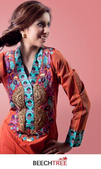 Beech Tree Women's Eid Wear Collection 2012