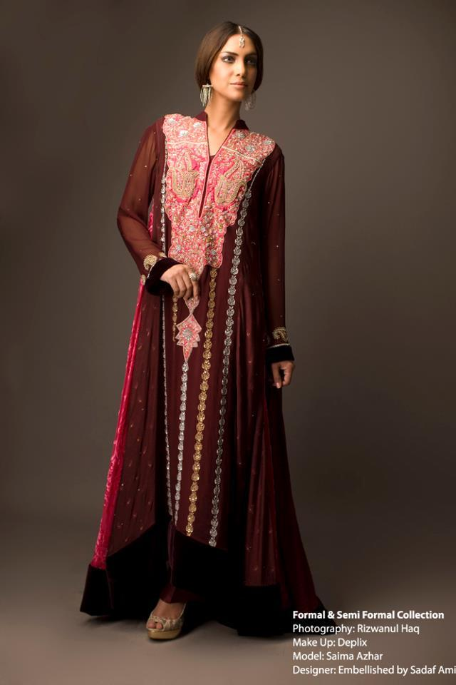 Elegant Formal Wear Collection by Sadaf Amer