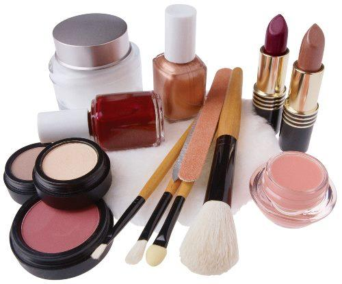 A Collection of Makeup Tools For Professional Makeup