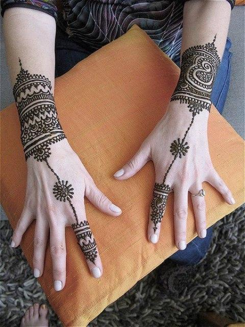 Hand Mehndi Beautiful Henna Designs