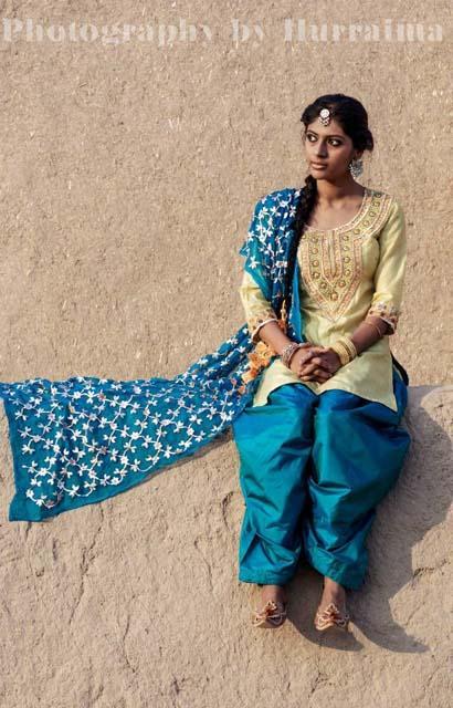 KUAAR Village Women Traditional Saraiki Cultural Lovely Charming Dresses Fashion