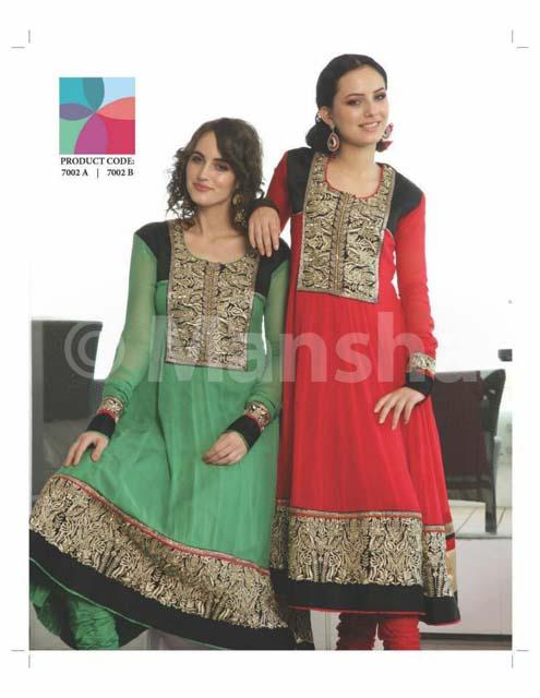 Mansha Elegant Stylish Salwar Kameez Fall-Winter