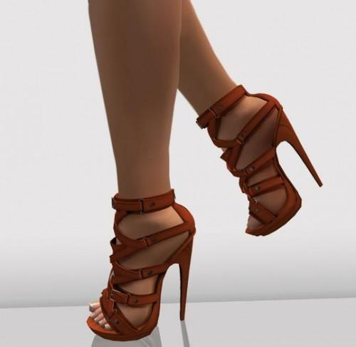 High shoes for ladies