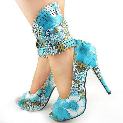Fashion brand women high heel shoes hot sale manufacturer from