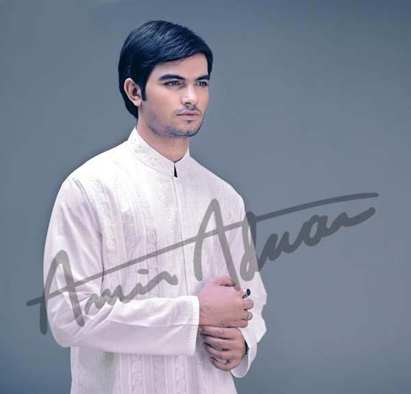 Amir Adnan Men's Fall Winter Kurta Shalwar