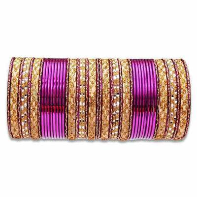 An Elegant Collection Of ColorFull BanGles
