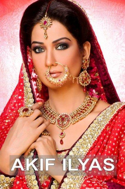 Bridal Shoot By Akif Ilyas Beauty