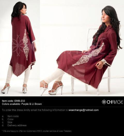 Change Latest Ready To Wear Mid Summer Wear Collection