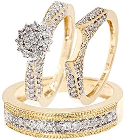 Elegant Fashion Wedding Rings