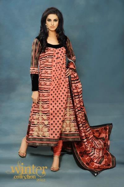 Fabulous Winter Collection by Warda Designer Series