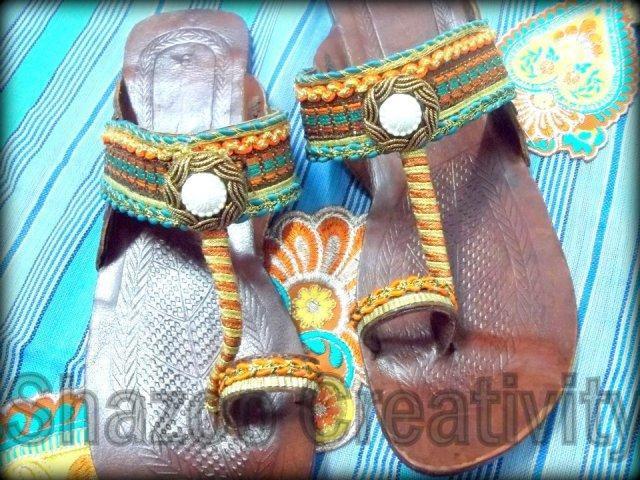 Kolhapuri Shoes By Shazoo Creativity