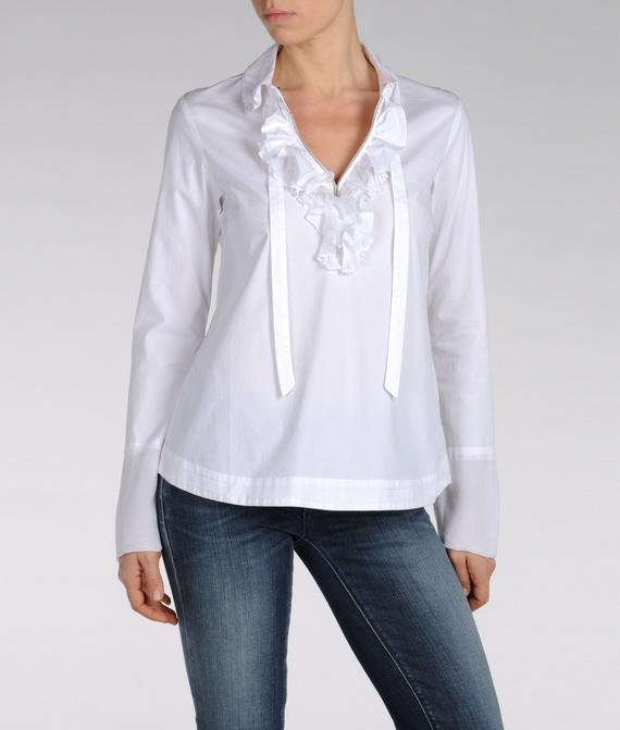Lady`s Wear Armani Jeans Shirts