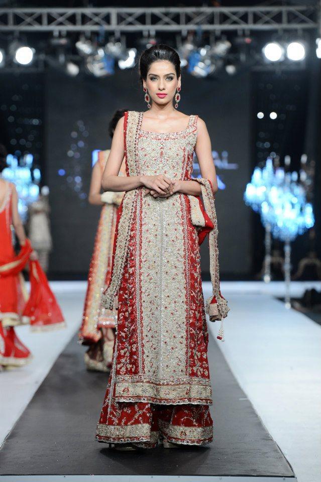 Nikie Nina & Layla Chatoor Elegant Dresses @ PFDC Loreal Bridal Week