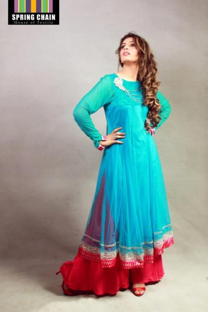 Spring Chain Fashionable Eid ul Azha Collection