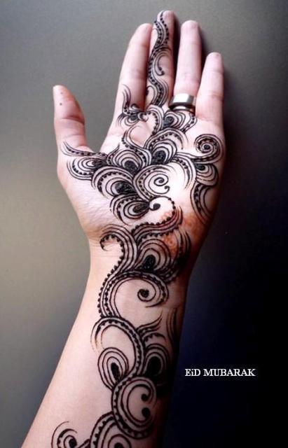 Elegant Bridal Mehndi Designs : Ultimate eid bridal mehndi henna elegant designs
