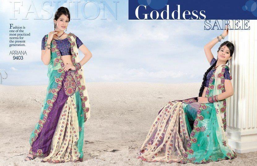 Ultimate Elegant Lehenga & Saree