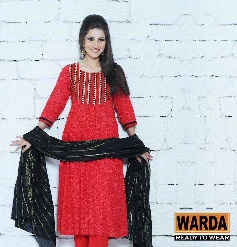 Warda Designer Ready To Wear Collection