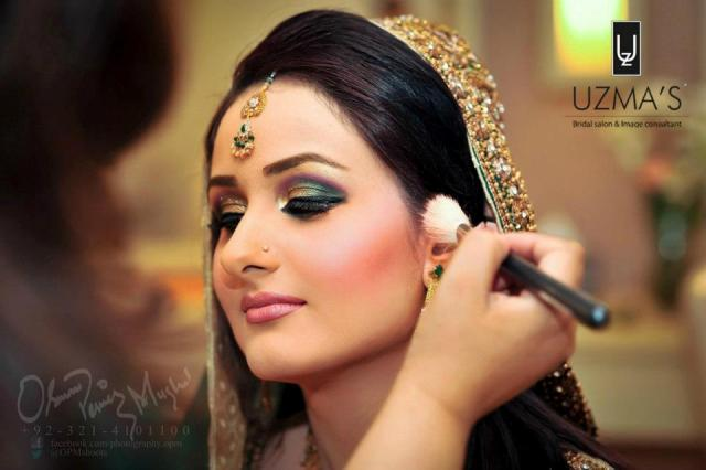 Uzma S Mehndi Makeup : Uzma bridal makeup hiar style and jewelry shoots stylecry