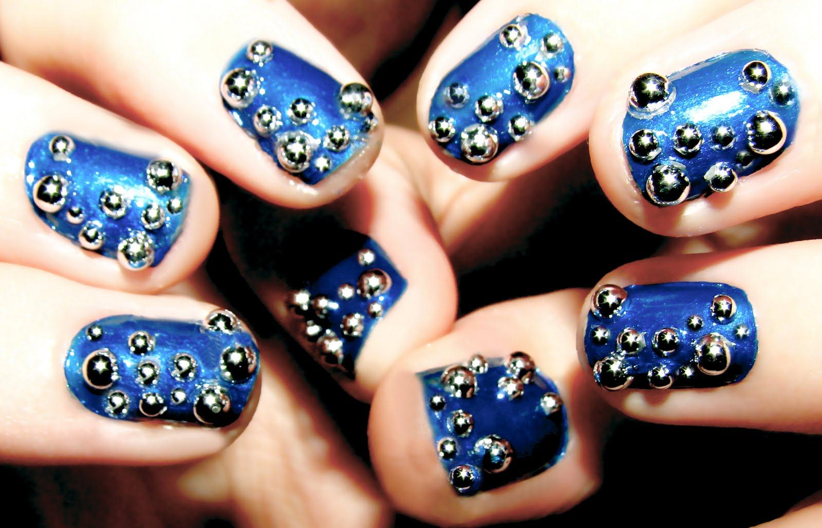 Awesome Nail Art 2013 For Girls Fashionstylecry Bridal Dresses