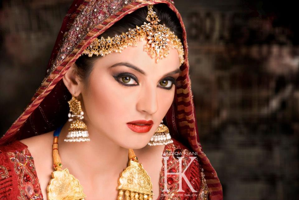 Uzma S Mehndi Makeup : Uzma s bridal salon dha lahore contact services detail croozi