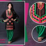 Party Wear Long Shirt Dress Collection By Ayesha Omer