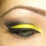 Trendy Yellow Eye Makeup Ideas 3