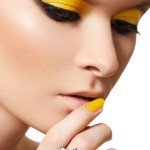 Trendy Yellow Eye Makeup Ideas 5