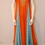 Vasim Asghar New Arrivals Party Dress For Girls