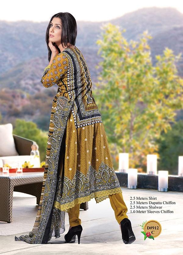 47812d7115 Aalishan Chiffon Lawn Collection 2013 For Women By Dawood Textile 37 ...